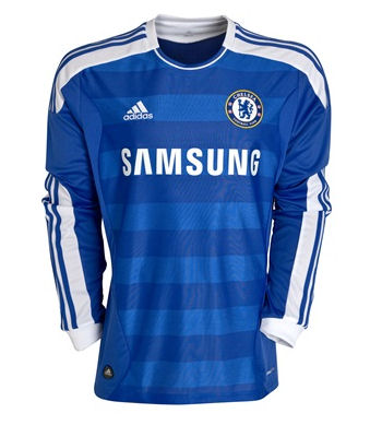11-12 Chelsea Home Shirt Long Sleeved