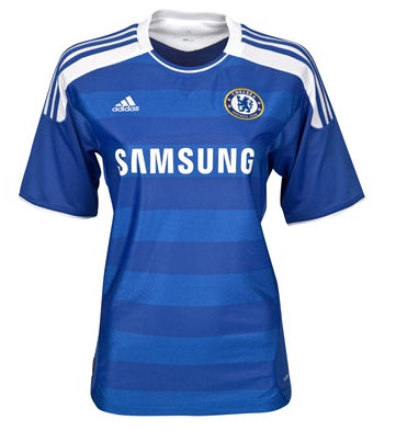 11-12 Chelsea Home Shirt Women