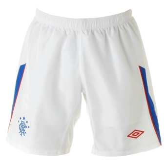 11-12 Glasgow Rangers Home Shorts