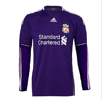 11-12 Liverpool Away Goalkeeper Shirt