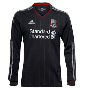 11-12 Liverpool Away Shirt Long Sleeved