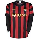 11-12 Manchester City Away Shirt Long Sleeved