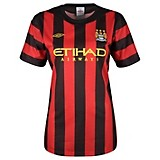 11-12 Manchester City Away Shirt Women