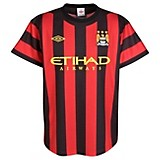 11-12 Manchester City Away Shirt Kids