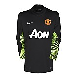 11-12 Manchester United Home Goalkeeper Shirt