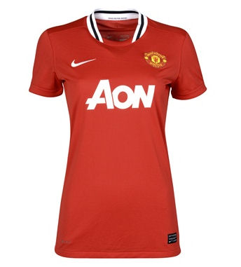 11-12 Manchester United Home Shirt Women