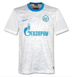 11-12 Zenit Away Shirt
