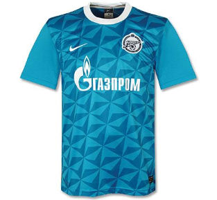 11-12 Zenit Home Shirt
