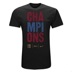 2011 Barcelona Champions T-Shirt