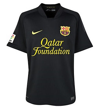 11-12 Barcelona Away Shirt Kids