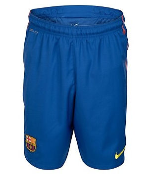 11-12 Barcelona Home Shorts