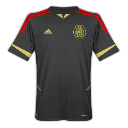 11-12 Mexico Away Shirt