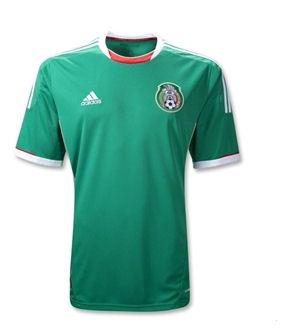 11-12 Mexico Home Shirt