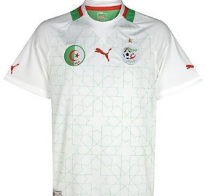 12-13 Algeria Home Shirt