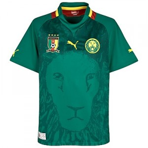 12-13 Cameroon Home Shirt