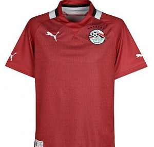 12-13 Egypt Home Shirt