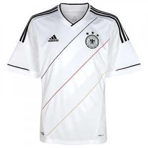 12-13 Germany Home Shirt