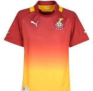 12-13 Ghana Away Shirt