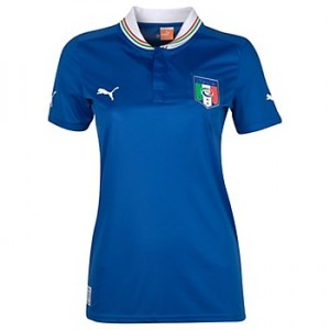 12-13 Italy home Shirt Women