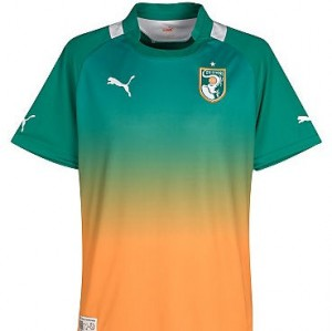 12-13 Ivory Coast Away Shirt