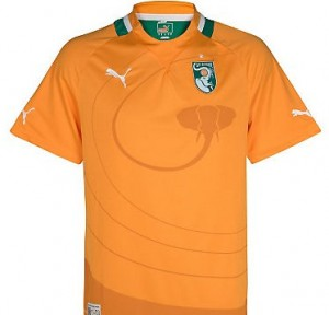 12-13 Ivory Coast Home Shirt