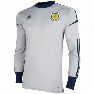 12-13 Scotland Home Goalkeeper Shirt