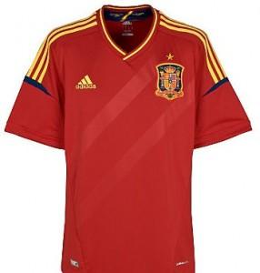 12-13 Spain Home Shirt