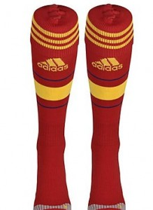 12-13 Spain Home Socks