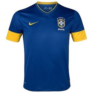 12-13 Brazil Away Shirt Kids