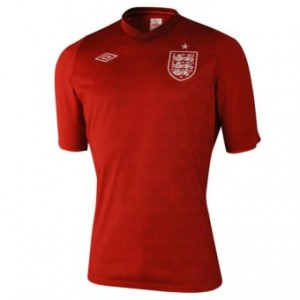 12-13 England Home Goalkeeper Shirt