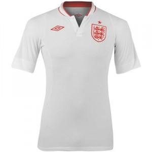 12-13 England Home Shirt