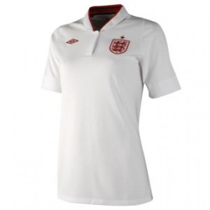 12-13 England Home Shirt Women