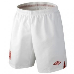 12-13 England Home Shorts