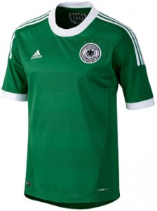 12-13 Germany Away Shirt