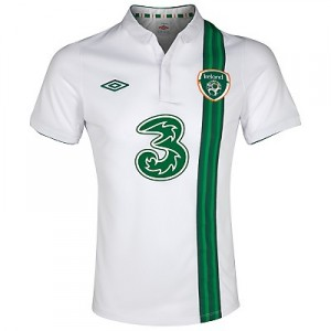 12-13 Ireland Away Shirt