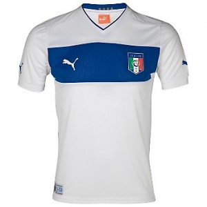12-13 Italy Away Shirt Kids