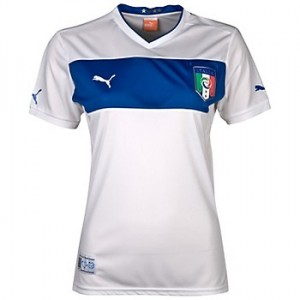 12-13 Italy Away Shirt Women