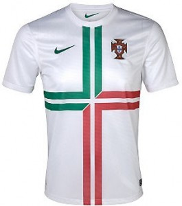 12-13 Portugal Away Shirt Kids