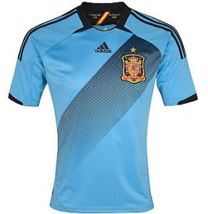 12-13 Spain Away Shirt Kids