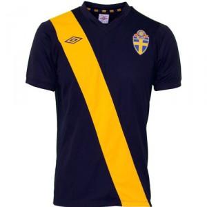 12-13 Sweden Away Shirt