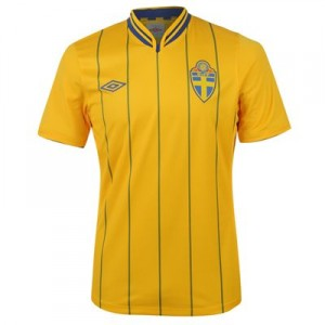 12-13 Sweden Home Shirt